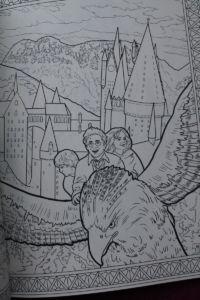 Harry Potter Magiczne Stworzenia Do Kolorowania Portafortunas